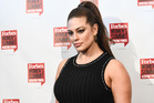 Model Ashley Graham says she has concerns for young girls who are growing up in a culture of body shaming and online negativity. Photo / Getty