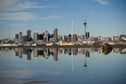 Auckland office space vacancy rates are at record lows. Photo / Greg Bowker