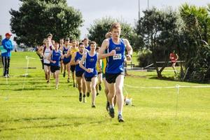 Jono Jackson taking out Auckland Cross Country Championships. Photo / Supplied