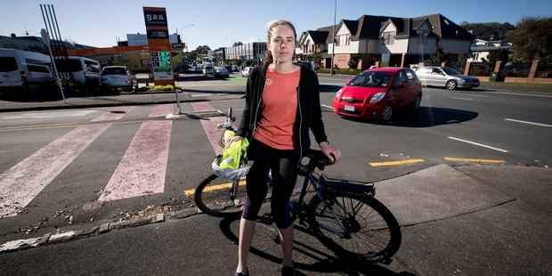 Loading Nurse Anna Hickey, 23, is afraid to get back on her bicycle after last week's accident. Photo / Dean Purcell