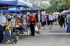 TREATS AND TALK: The Saturday morning River Traders market is the place to be.