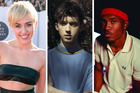 Miley Cyrus, Troye Sivan and Frank Ocean are pop stars who freely express their sexuality in their music. Photos / AP, Supplied