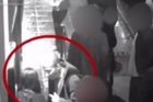 """Chilling CCTV images show the moment India Chipchase was ushered into a taxi by an """"oddball"""" fantasist who was today convicted of her rape and murder.  Source: Northamptonshire Police.   The 20-year-old barmaid left NB's nightclub in Northampton in the early hours of January 30 after reportedly downing six Jagerbomb drinks.  Footage from outside the club shows the moment 52-year-old Edward Tenniswood spots Chipchase and tells her: """"I'll get you home safe""""."""
