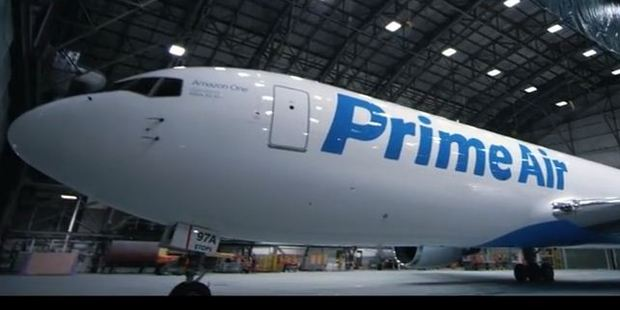 The company's move into full-size aircraft is the latest step in the expansion of its logistics chain.
