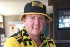 Hurricanes fan Craig Werder of Hawera. Photo / Facebook