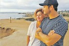 BIG BREAK: Former Havelock North actor Cameron Jones, pictured with his mother Sue Pitts in Los Angeles.