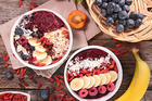 It can be inspiring to follow wellness bloggers who post gorgeous shots of themselves in their activewear, with their perfect acai smoothie bowls. Photo / iStock