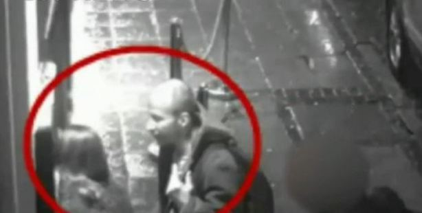The moment Edward Tenniswood made contact with India Chipchase outside a bar on the night he killed her.