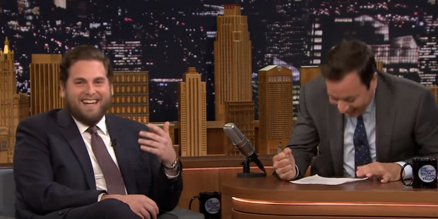 Jimmy Fallon couldn't keep it together once he found out what Jonah sent Drake.