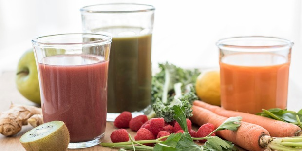 Experts have spoken out against juice diets, saying the restrictive food fad can lead to a host of health issues, including migraines, muscle loss, and even liver damage. Photo / Getty