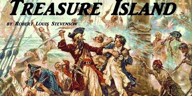 Stevenson's classic tale 'Treasure Island' probably shorted my time in bed by days, writes Paul Charman.