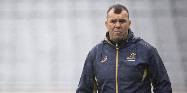Australian head coach Michael Cheika.