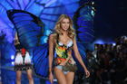 Stella Maxwell walking the runway at a Victoria's Secret Fashion Show. Photo / Getty