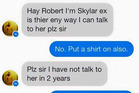 One teen didn't know what he was in for when he started messaging his ex girlfriend's father. Photo / Imgur