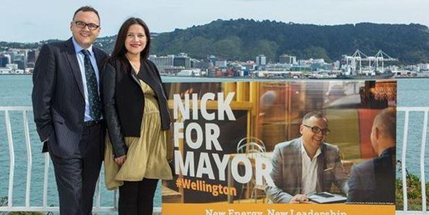 Current Porirua Mayor Nick Leggett is running for Mayor of Wellington. Photo / Supplied