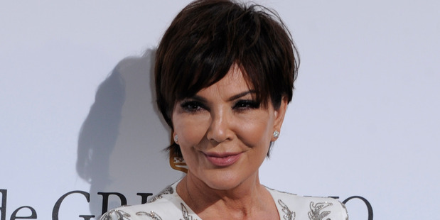 Kris Jenner has escaped the crash with a potentially broken wrist but is otherwise fine. Photo / Splash News