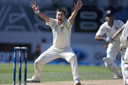 Join us for live scoring as the Black Caps close in on a win in the first test against Zimbabwe. Photo / Getty Images.
