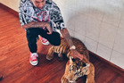 Since giving up his pet tiger, Tyga's done nothing to help take care of it. Photo / Instagram
