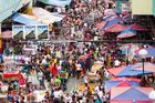 A street market in Manila. Filipinos love food - with dashes of Spanish spices, mixed with deep fried American and various Asian cuisines. Photo /123RF