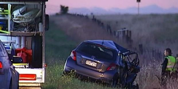 In the early morning he took Ms Godara's car and drove in front of a truck. Photo / Channel 9 News