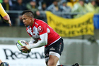 Elton Jantjies was thought to have been outclassed by opposite 10 Beauden Barrett last night, according to South African media outlets. Photo / Photosport