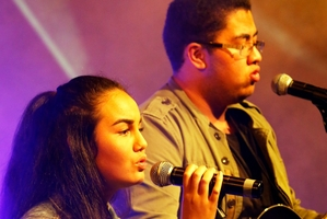 Huia and Zaia are one of two Northland acts to make it to the final of the Smokefree Pacifica Beats.
