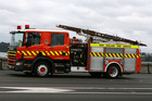 A fire engine with extrication gear was sent to a Manawatu farm where a worker died yesterday. Photo / File