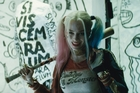 Australian Margot Robbie plays Harley Quinn - geddit? - the Joker's psychotic love interest.
