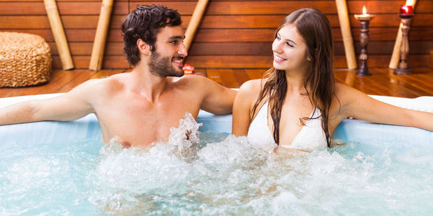 Amorous couples in hotel spa pools were an issue for 22 per cent of respondents to the Expedia survey. Photo / 123RF