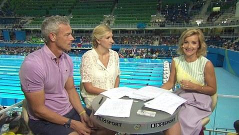 Meet BBC Olympics swimming presenter Helen Skelton