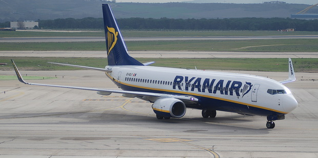 Loading One Ryanair passenger flying out of Madrid this week took the term running late to a whole new level. Photo / Creative Commons image from Flickr user Aero Icarus