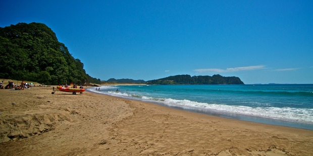 The hidden wonders of Coromandel's Hot Water Beach have seen it featured in the new Lonely Planet book. Photo / Creative Commons image by Flicker user Christian Michel