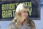 Terri Irwin pictured at Australia Zoo for her daughter Bindi's 18th Birthday celebrations. Photo / Getty Images