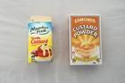 Meadow Fresh Vanilla Custard and Edmonds Custard Powder. Photo / Supplied