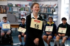 Erin Colane, 13, spells her way to success at the Northland final of the New Zealand Spelling Bee. Photo / John Stone