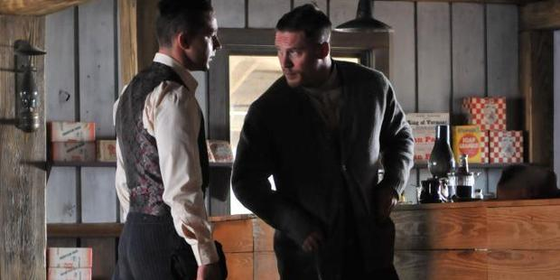 Shia LaBeouf and Tom Hardy in Lawless.