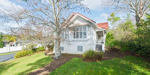 15 Rangitoto Ave , Remuera, which was owned by elderly couple Brian and Beth Frankham who died and didn't have any children. Photo / Supplied