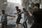 Fighting in Aleppo has intensified in the past month. Picture / AP