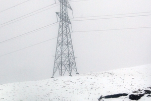Unison network staff worked through difficult conditions over the weekend to restore power to affected areas of Hawke's Bay. Photo / Paul Taylor