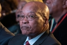 Jacob Zuma is feeling the pressure of the ANC's poor showing at the polls. Photo / AP