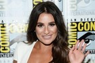 Actress Lea Michele has shared videos of her face getting waxed on Snapchat. Photo / AFP