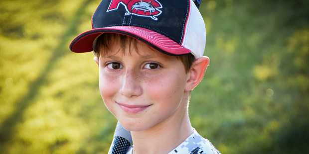 Caleb Thomas Schwab, who died while riding the Verruckt water slide. Photo / AP
