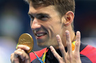 United States' Michael Phelps celebrates winning the gold medal in the men's 200-meter individual medley at the 2016 Summer Olympics. Photo / AP