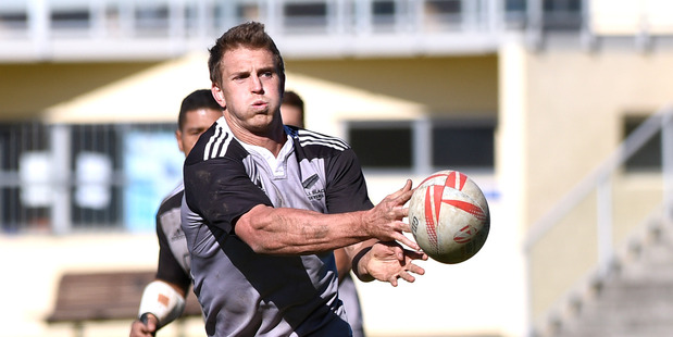 All Blacks Sevens captain Scott Curry looks to have perfectly timed his return from injury for his side's Olympic campaign. Photo / George Novak