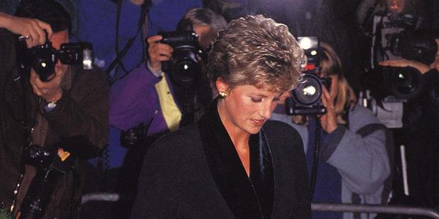 Diana died in a 1997 car crash in Paris. Photo / AP