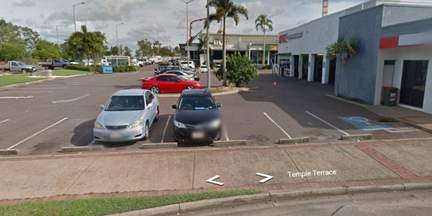 The fight began when Renata's mother accidentally drove her car the wrong way around the carpark at Palmerston Sports Club, Darwin. Photo / Supplied