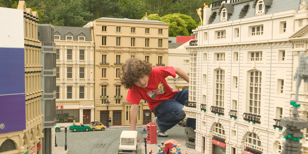 A child plays at Legoland in Windsor in the United Kingdom. Photo / Getty Images