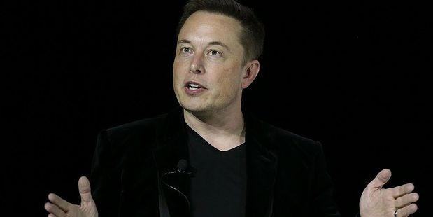 Tesla chief executive Elon Musk. Photo / Getty Images