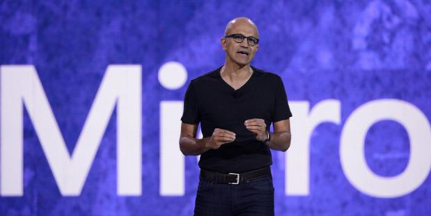 Microsoft chief executive Satya Nadella. Photo / Getty Images