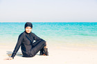 A burkini 'ostentatiously displays religious affiliation' according to Lisnard. Photo /Getty Images